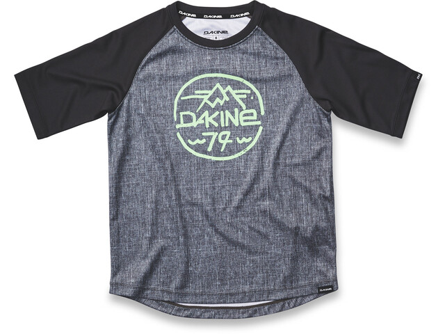 Dakine Dropout Fietsshirt korte mouwen Kinderen grijs